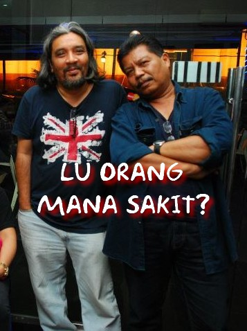 Blogger Aku Peduli Apa (Azmi) bersama Blogger Umno Reform (Anuar Mohd Nor)